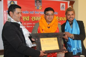 Shrestha Honored - Khel Dainik