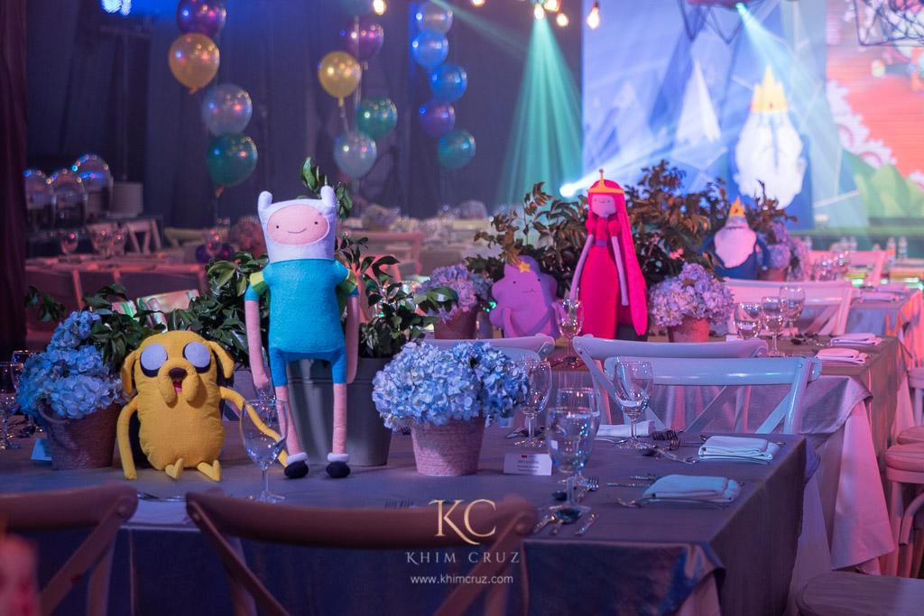 Jacob S Adventure Time Themed Birthday Party Khim Cruz Wedding And Event Designer Florist Stylist