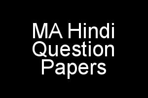 IGNOU MA Hindi (MHD) Question Papers of Previous Terms
