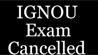 IGNOU Exam Cancelled for December 2018 BCA MCA New Dates