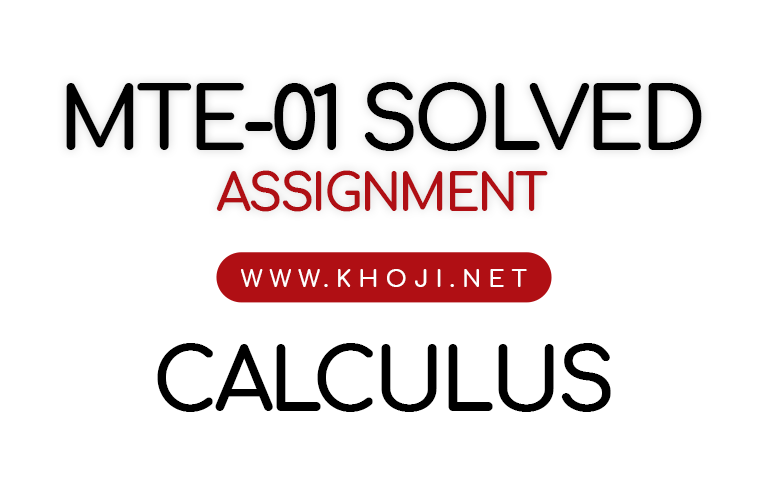 MTE-01 Solved Assignment 2019 For IGNOU BA BSC BCOM BDP