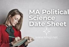 IGNOU MA Poltical Science Date Sheet