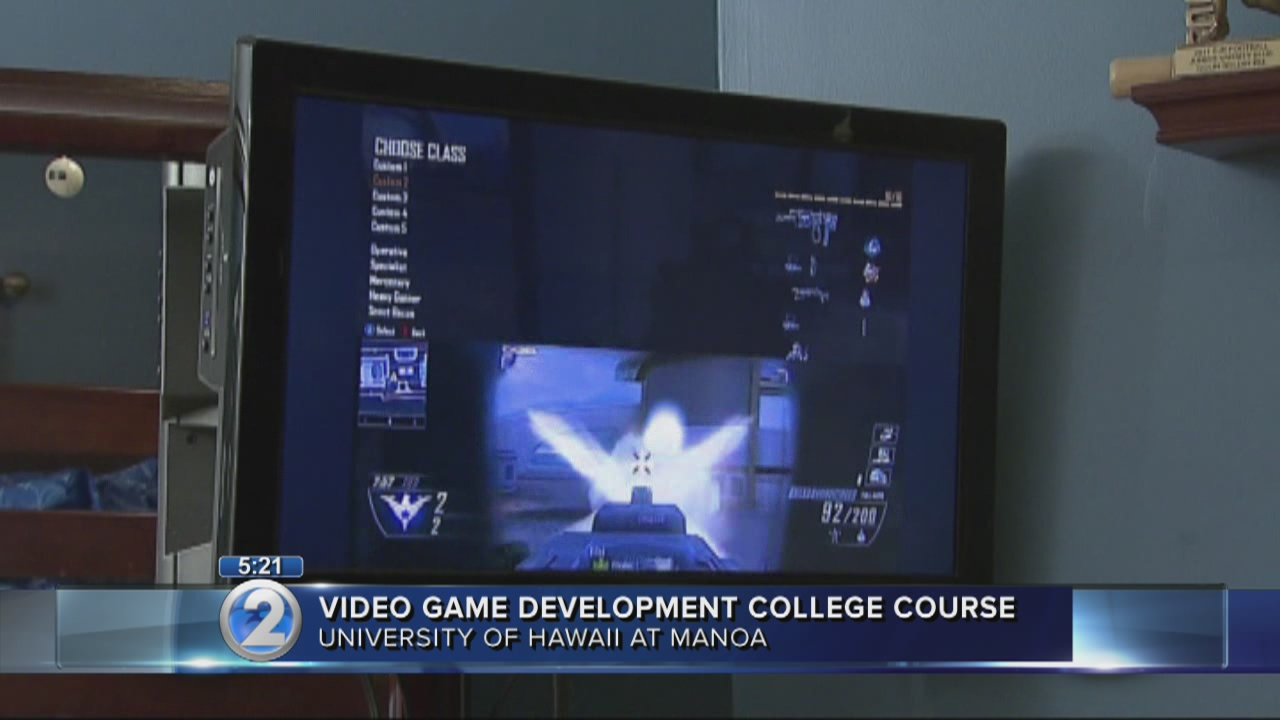 University of Hawaii gets into video game business