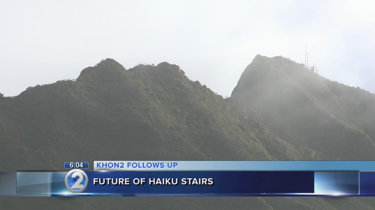 BWS takes first step to demolish Haiku Stairs