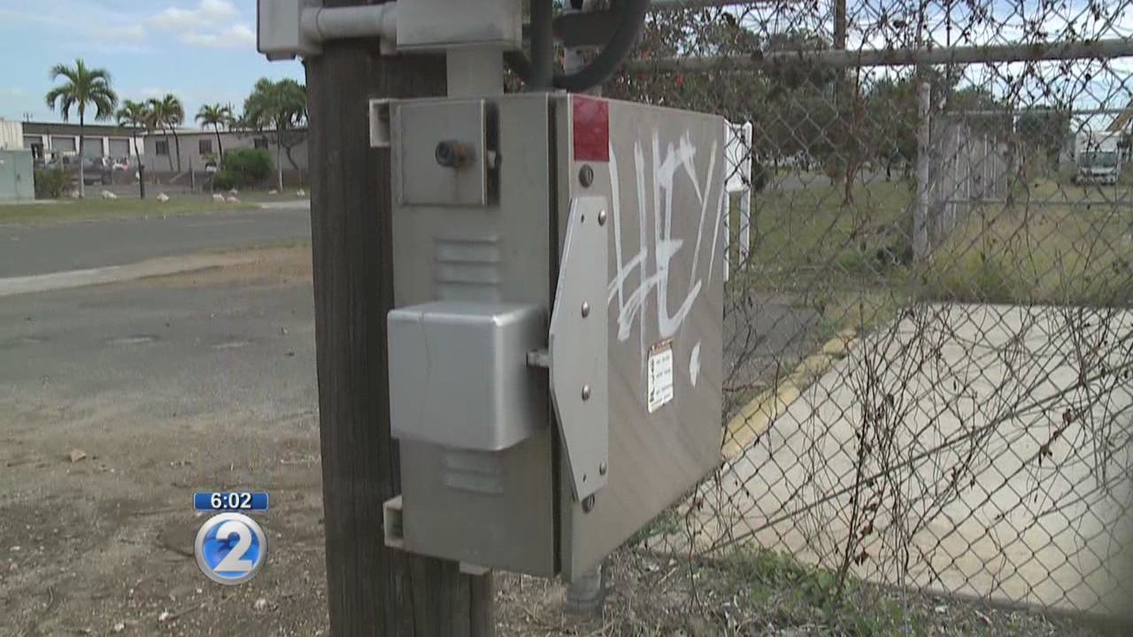 Police on the search for siren-battery thieves