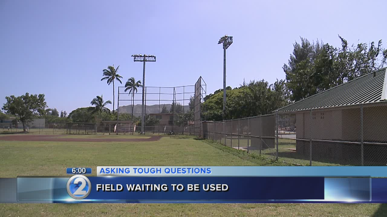 Renovation snag keeps Kailua softball field off-limits for years