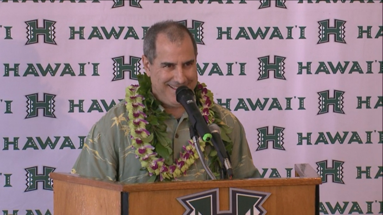 UH ATHLETICS DIRECTOR david matlin_85321
