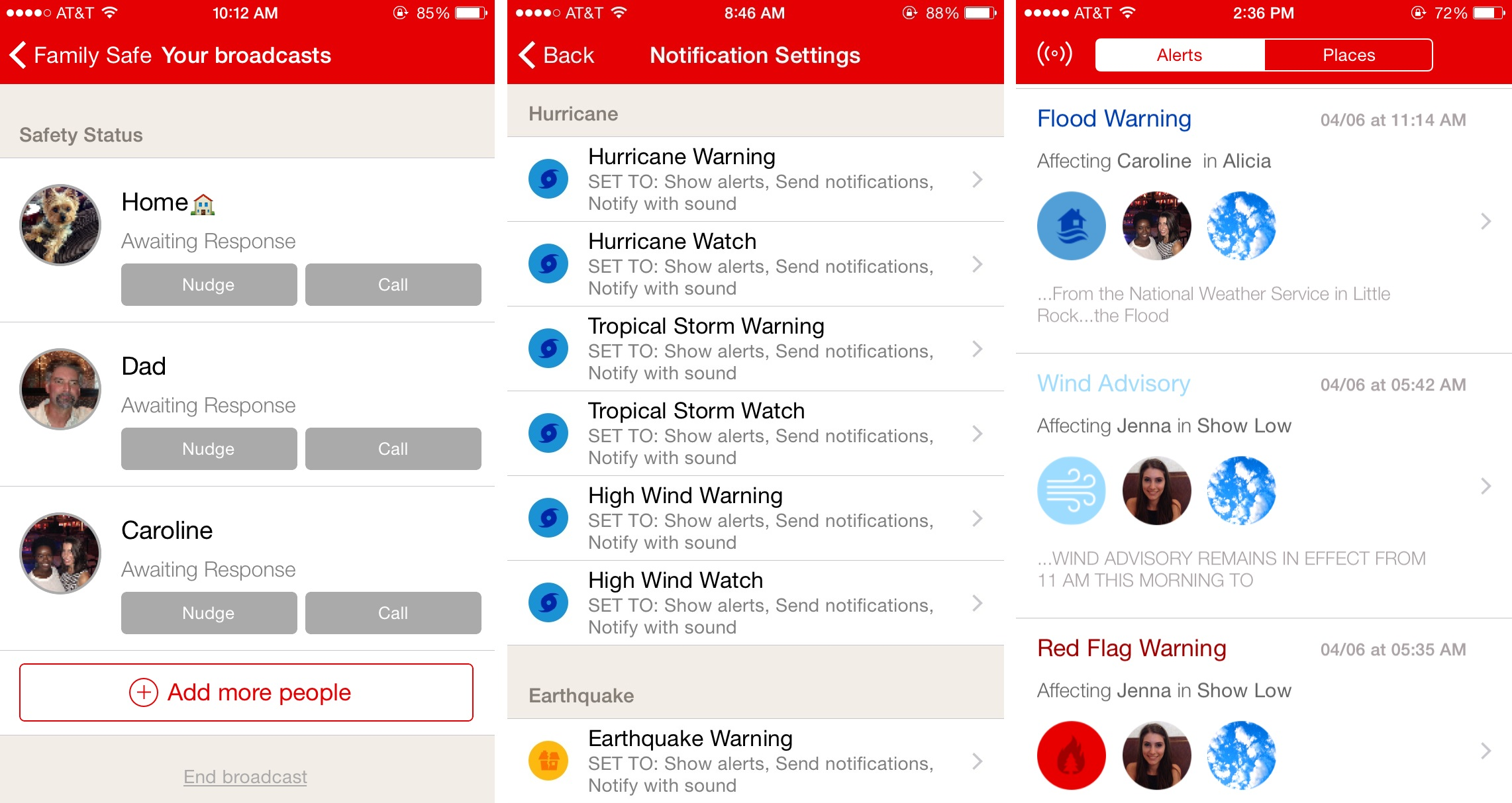 red cross emergency app screen shots_89382