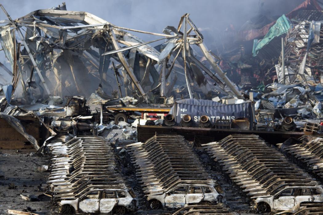 China Port Explosion_111335