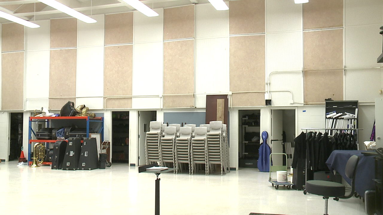 kaiser high school band room_114805