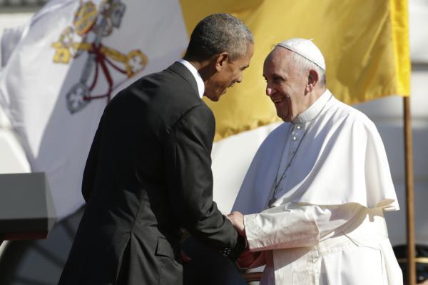 Barack Obama, Pope Francis_119311
