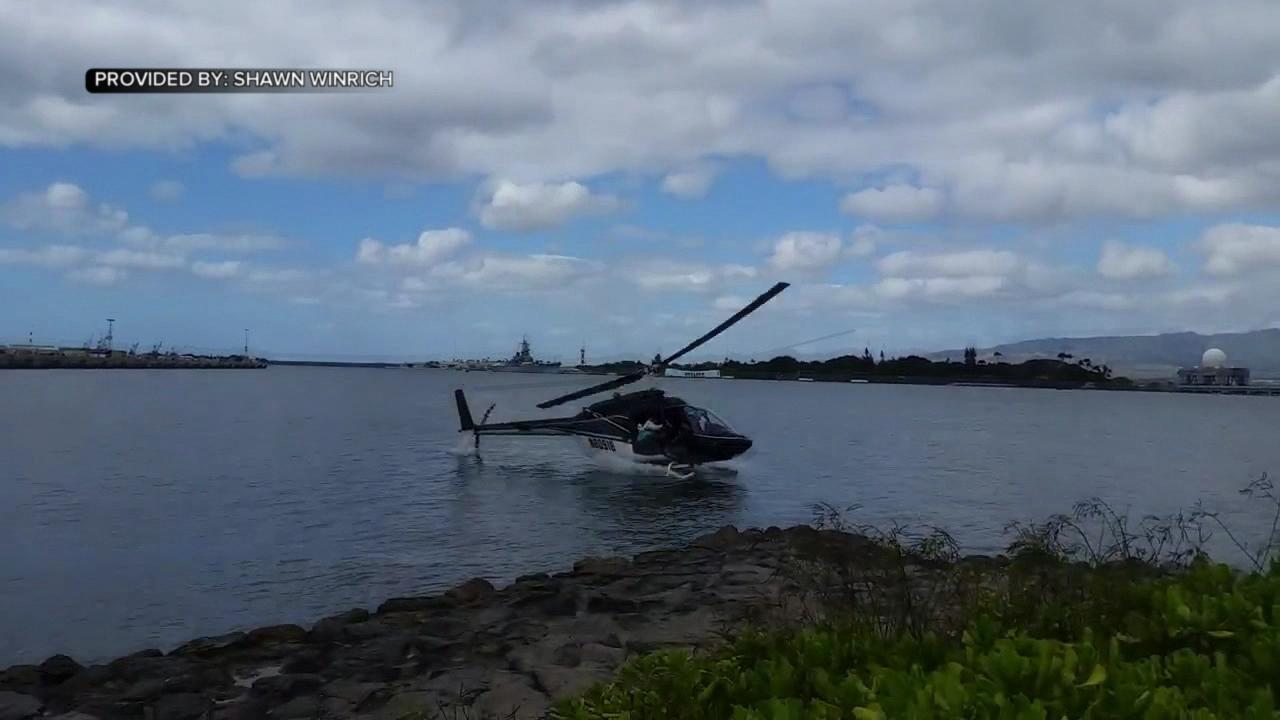 pearl harbor arizona memorial helicopter crash shawn winrich (1)_145154