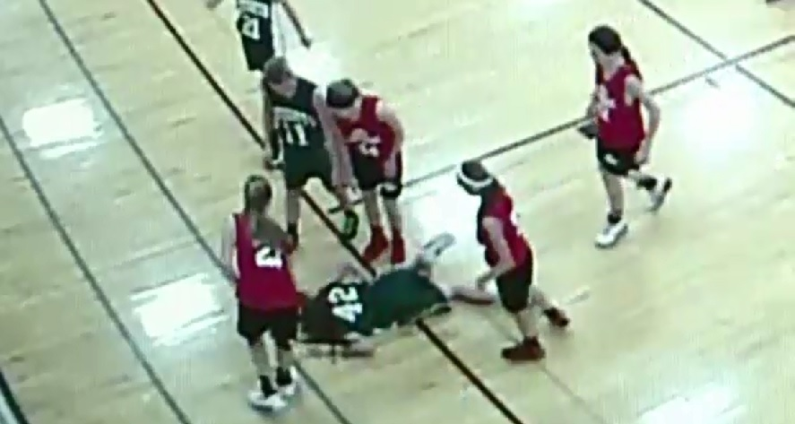 wisconsin basketball player impaled_143474