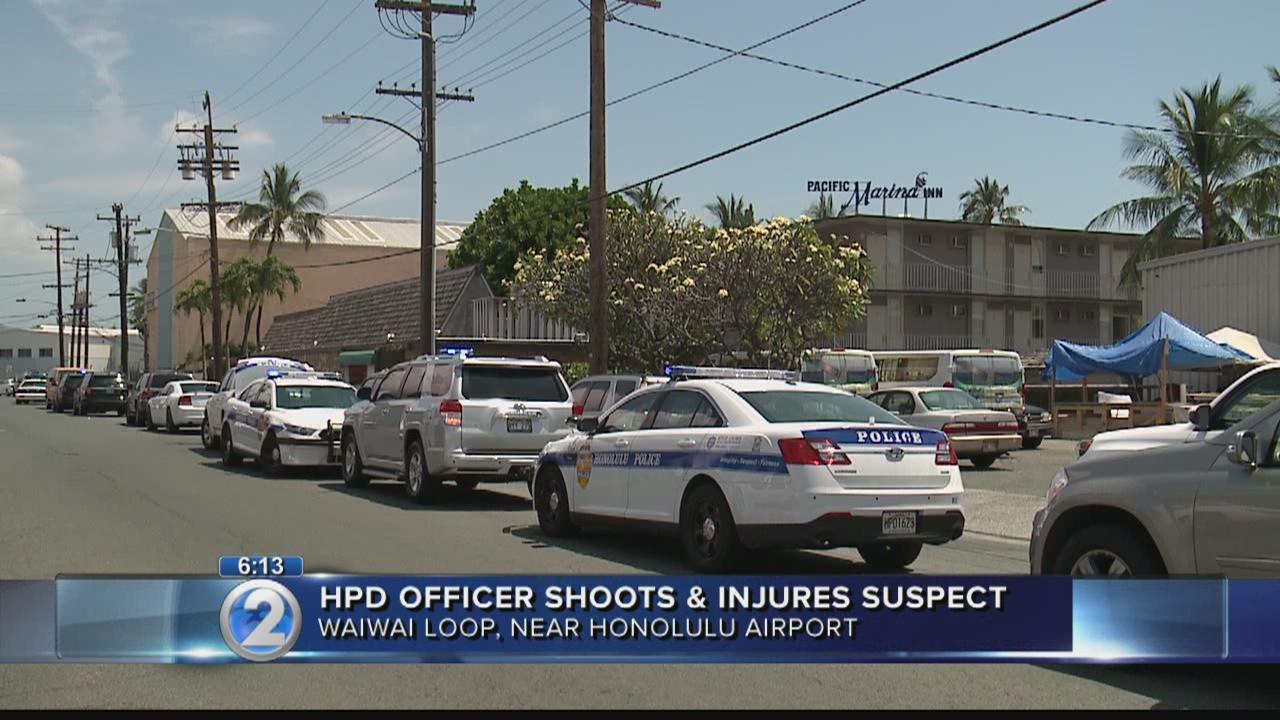 Police shoot burglary suspect at hotel near Honolulu airport