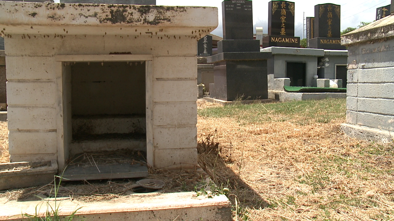 pearl city cemetery urn theft_151780