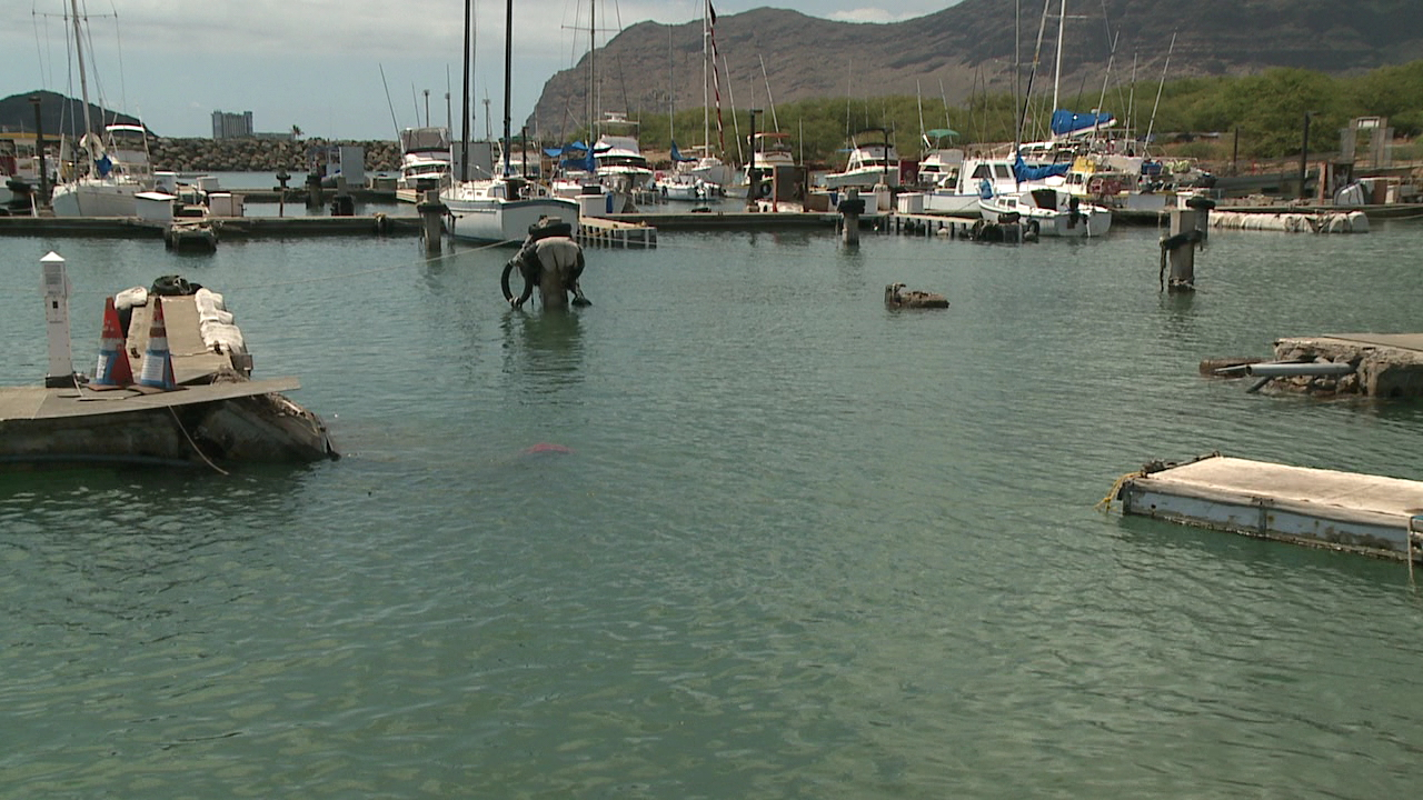 waianae harbor collapsed pier_156747