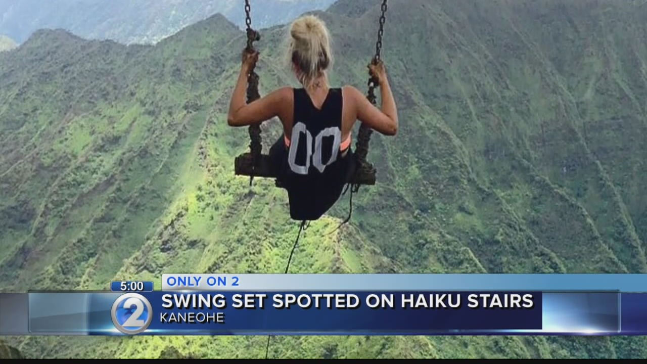 Extremely dangerous addition draws thrillseekers to forbidden Haiku Stairs