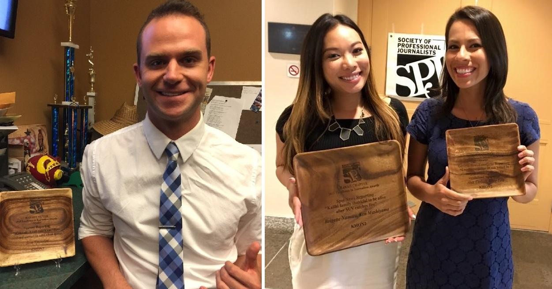 SPJ awards over white_163678