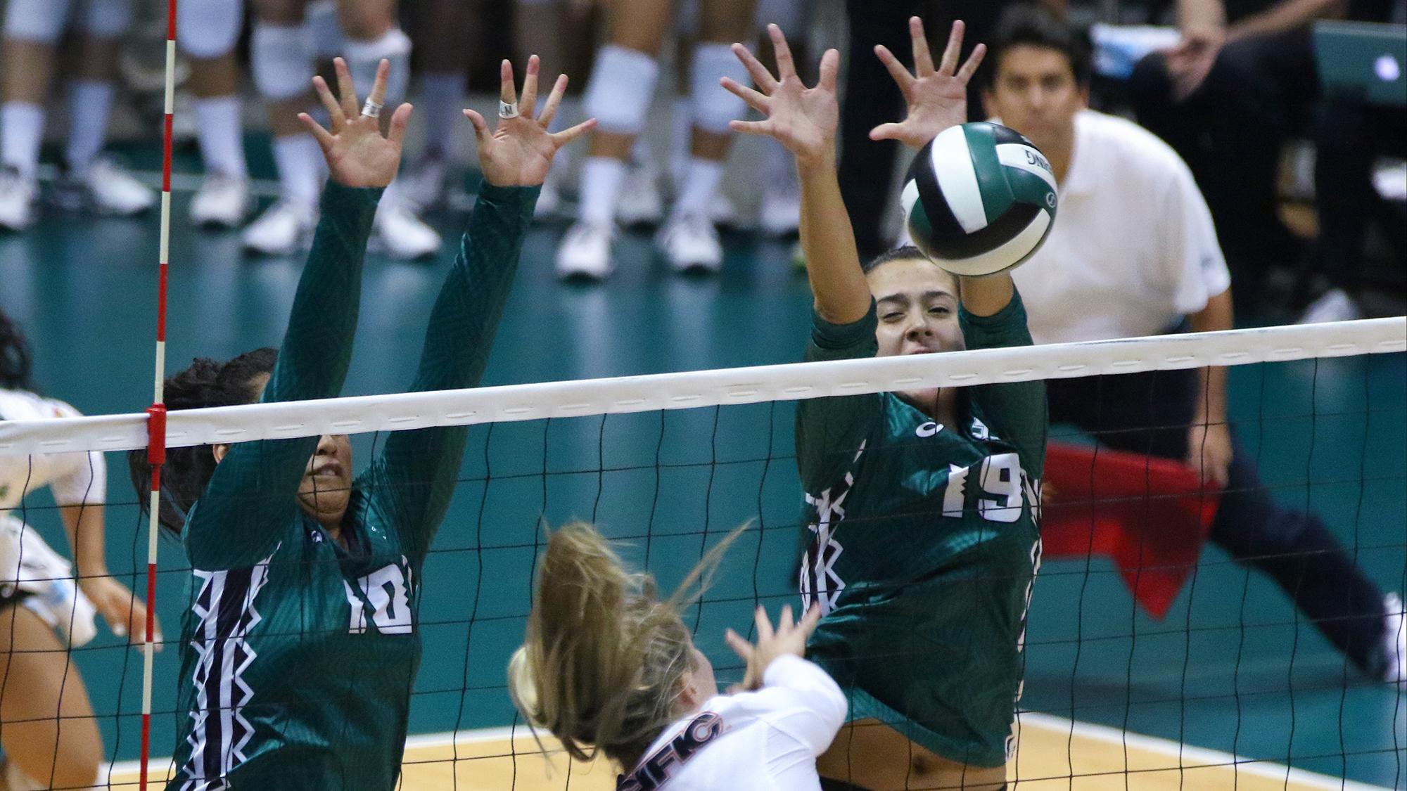 NCAA Women's Volleyball_ Pacific Tigers vs Hawaii Rainbow Wahine_173532