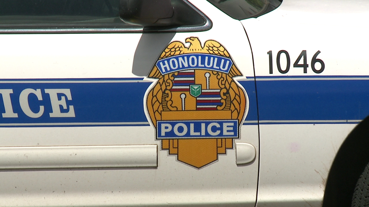 hpd honolulu police patrol car badge generic_168730