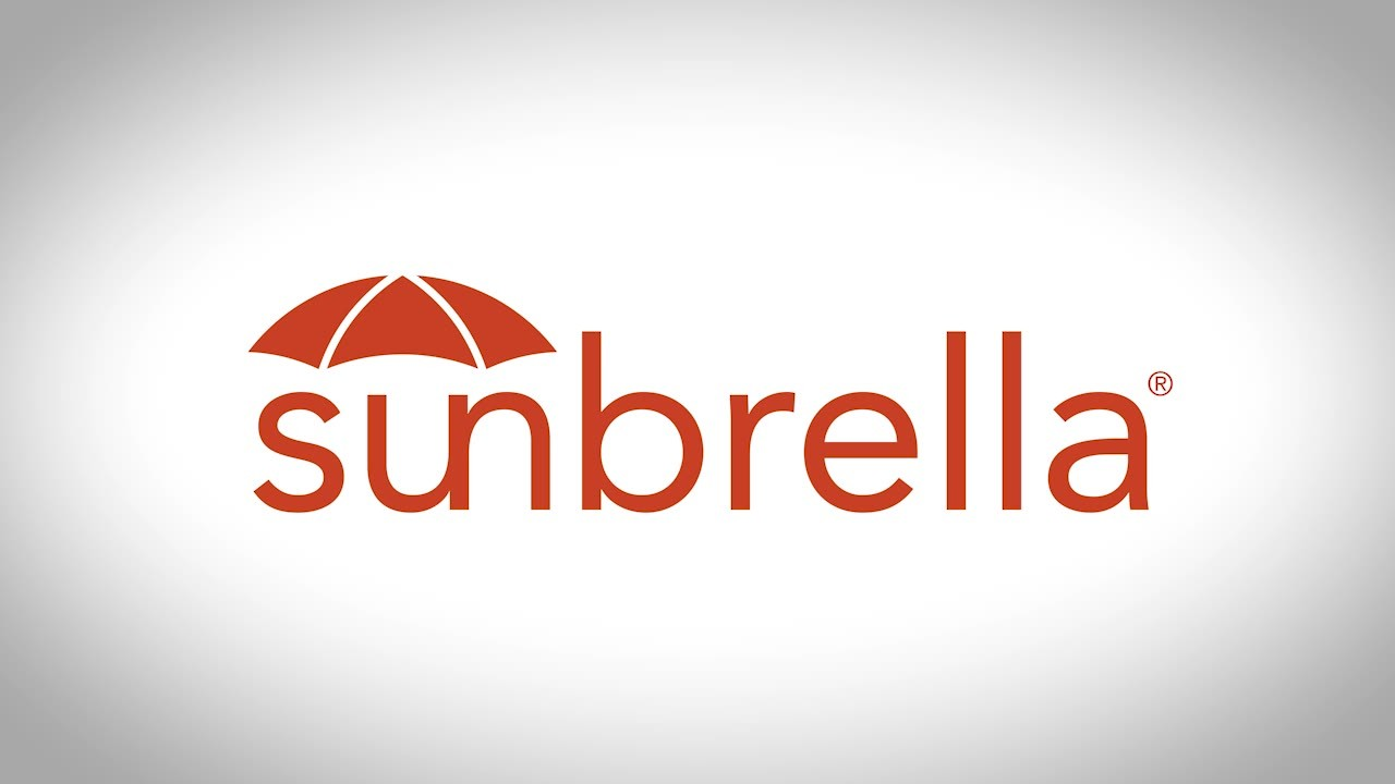 Sunbrella fabrics are stain-resistant, water-resistant, almost indestructible