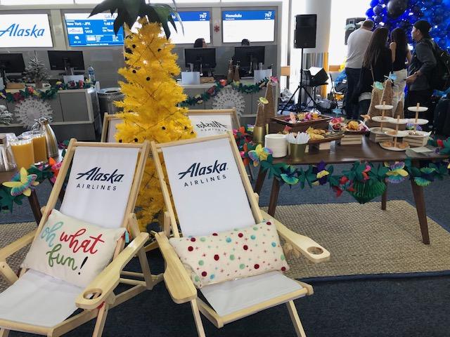 Alaska Airlines Aloha Christmas