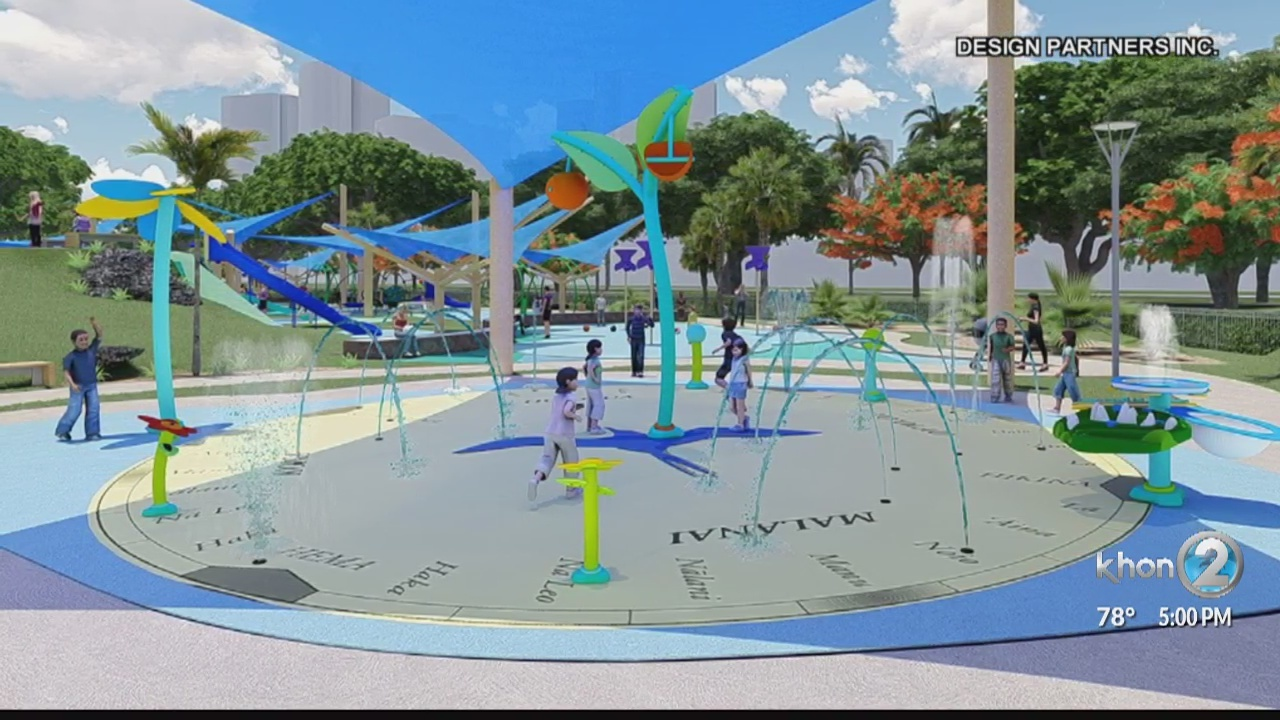 'World-class' playground at Ala Moana Park