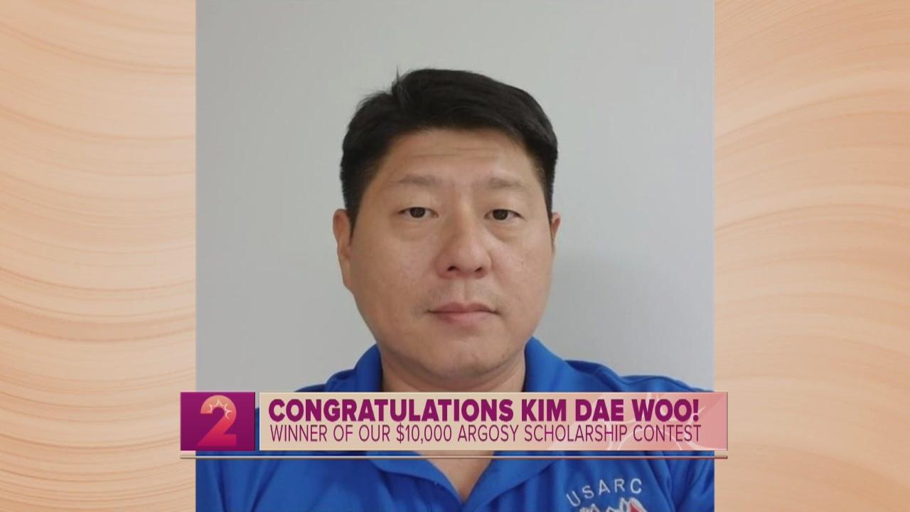 Argosy University Scholarship Winner: Kim Dae Woo