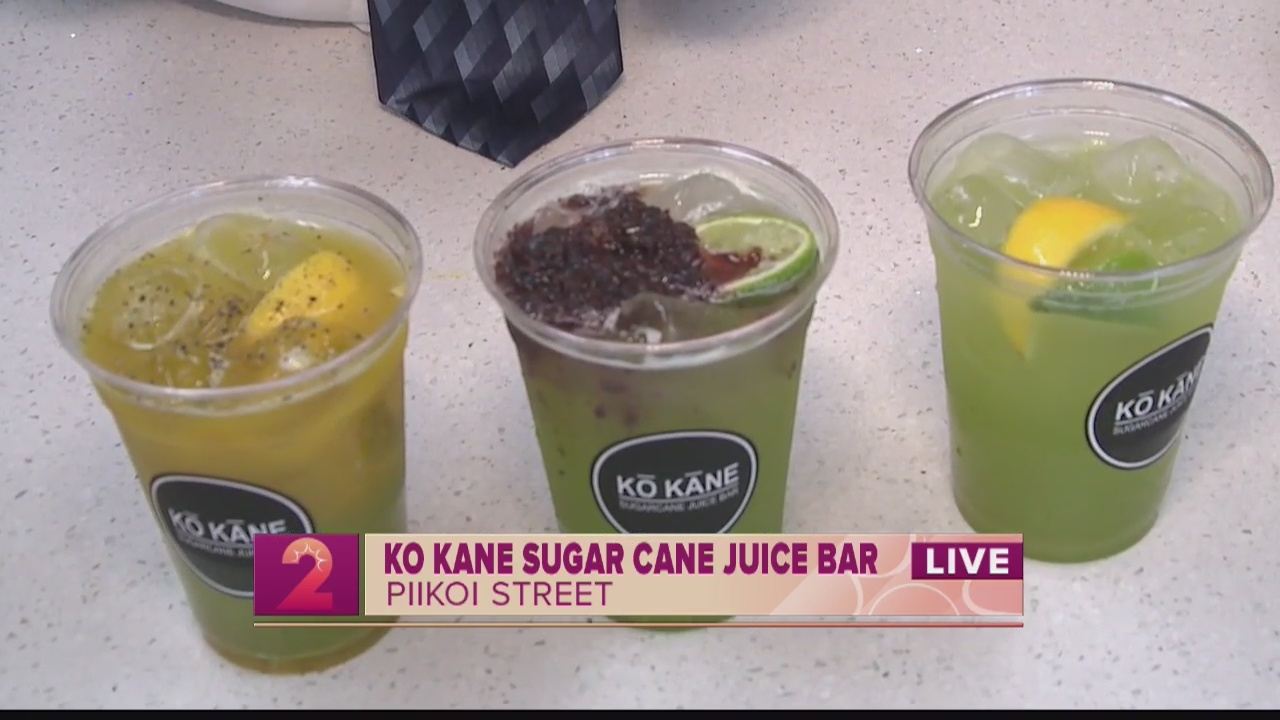 Take 2:Ko Kane Sugar Cane Juice Bar gives you the 'taste of Hawaii'