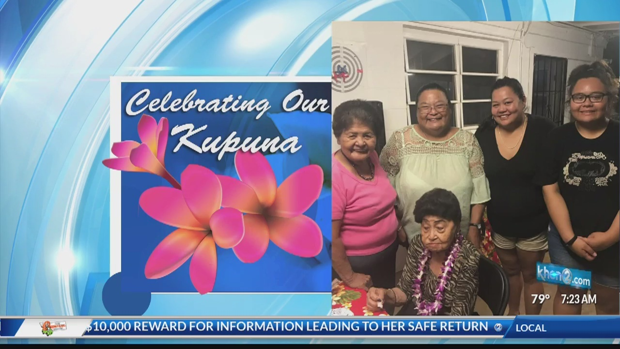 Celebrating Our Kupuna: Rose Mandrail