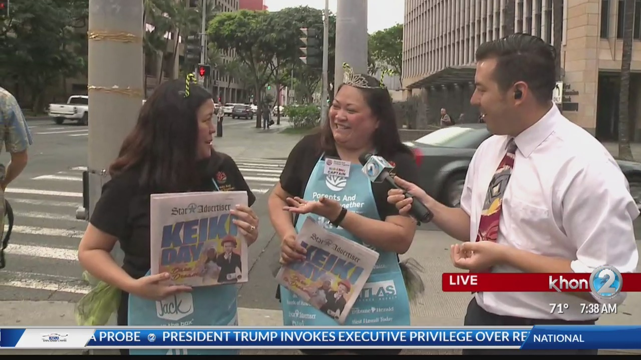 'Dare to Dream' on Keiki Day