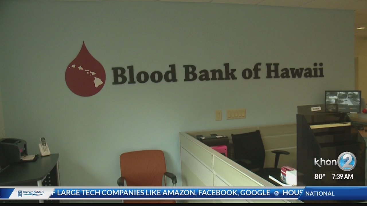 Blood Bank of Hawaii's special blood drive at Dave & Buster's