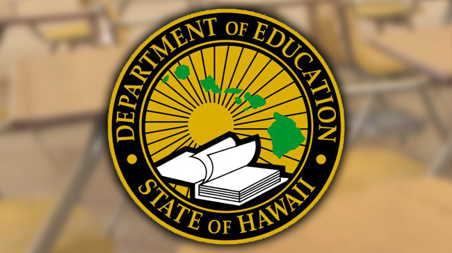 hawaii department of education hidoe doe logo with background