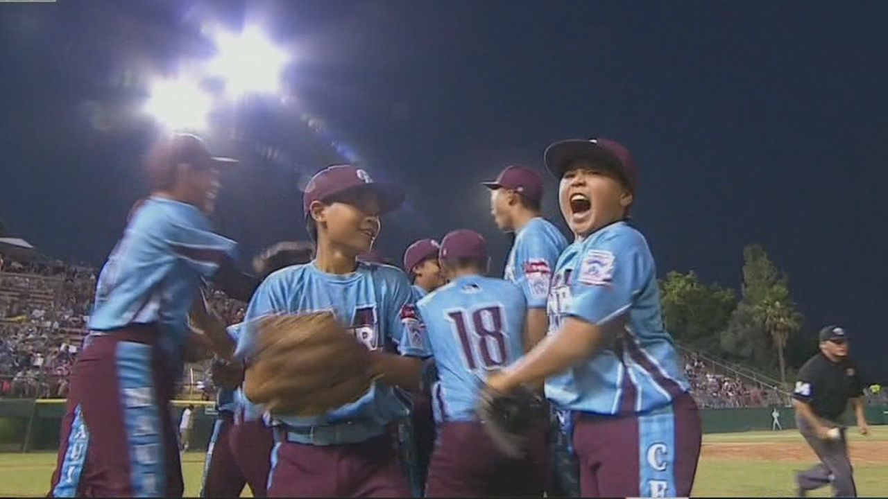 Maui team heading to Little League World Series after
