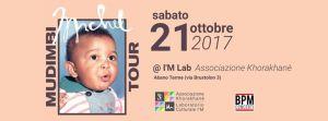 Concerto di Mudimbi ad Abano Terme, Padova, il 21 ottobre 2017 al Laboratorio Culturale I'M dell'Associazione Khorakhanè