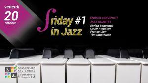 20 ottobre 2017 Friday in jazz al Laboratorio Culturale I'M dell'Associazione Khorakhanè, Abano Terme, Padova