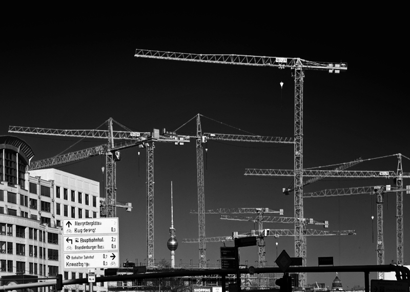 Baustelle Potsdamer Platz