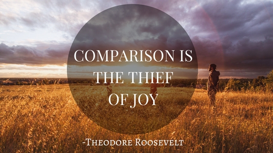 How to stop comparing your life to others
