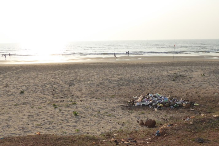 waste disposal beach