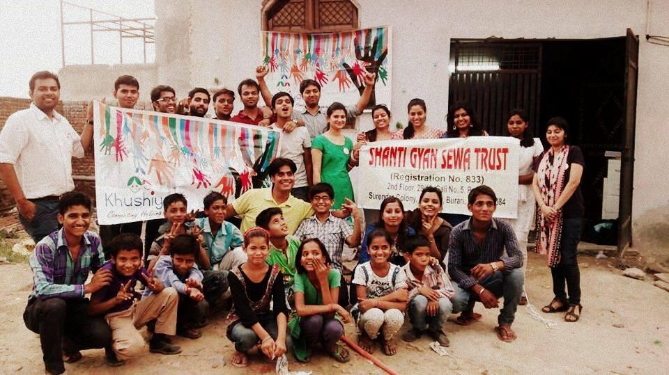SGST , Volunteer, NGOVisit