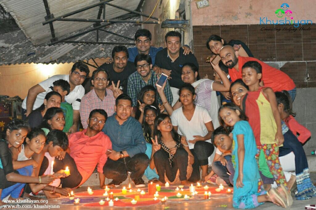 Diwali With Khushi Home Children