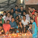 Diwali Celebration with Children at Khushi Raibow Home - 23rd Oct 2016