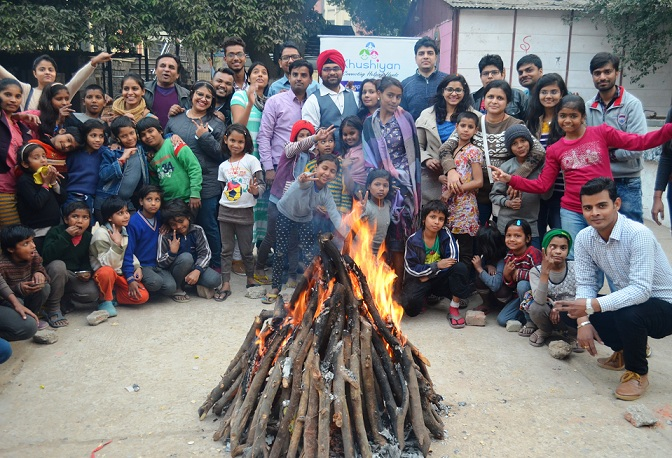 Lohri Celebration At Kilkari Rainbow Home On 15 Jan 2017