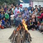 Lohri Celebrations with children @ Kilkari Rainbow Home- 15th Jan