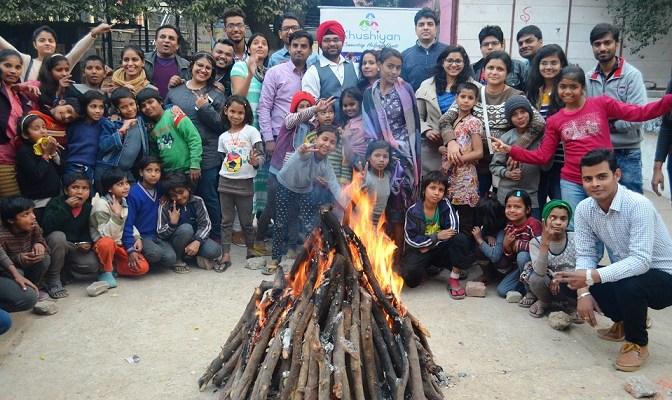 Lohri Celebration At Kilkari Rainbow Home On 15 Jan 2017