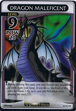 CardDragon Maleficent Kingdom Hearts Wiki The Kingdom