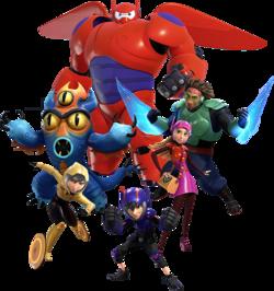 Big Hero 6 Kingdom Hearts Wiki The Kingdom Hearts Encyclopedia