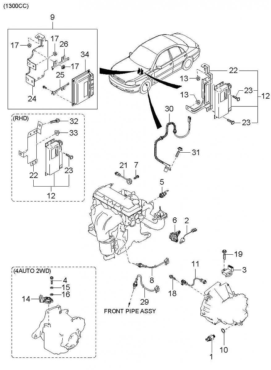 Kia rio 2006 stereo wiring diagram schematics and wiring diagrams