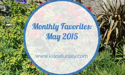 Monthly Goals – May 2015