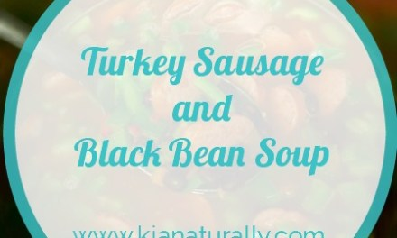 Turkey Sausage and Black Bean Soup Recipe